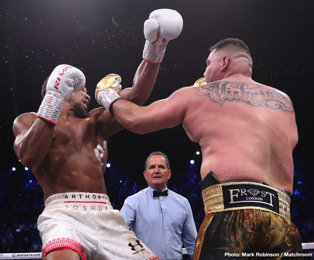 Anthony Joshua, Deontay Wilder, Eddie Hearn, Kubrat Pulev, Tyson Fury - Anthony Joshua is champing at the bit to tear through the heavyweight division and DESTROY Tyson Fury, according to promoter Eddie Hearn.