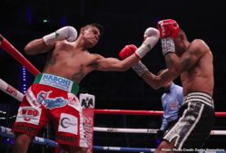 """Emanuel Navarrete, Francisco Horta, Jerwin Ancajas, Miguel Gonzalez - One year ago, WBO junior featherweight world champion Emanuel """"Vaquero"""" Navarrete was a relatively unknown title challenger. He is now one of the world's premier fighters and boxing's most active world champion."""