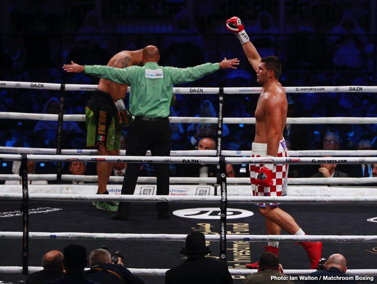 Daniel Dubois, Filip Hrgovic, Joe Joyce, Rydell Booker - Boxing News