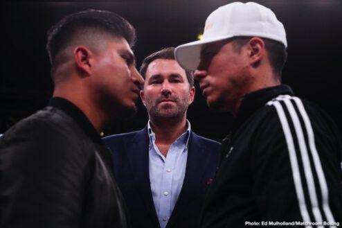 Daniel Jacobs, Daniyar Yeleussinov, Gabriel Rosado, Julio Cesar Chavez, Liam Smith, Maurice Hooker - Boxing News