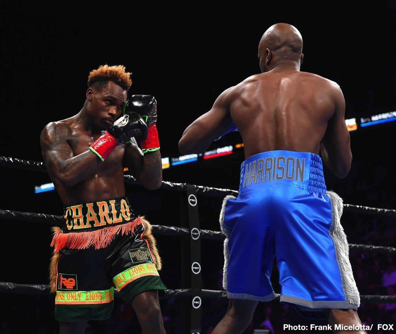 Bryant Perrella, Jermell Charlo, Tony Harrison - Boxing News