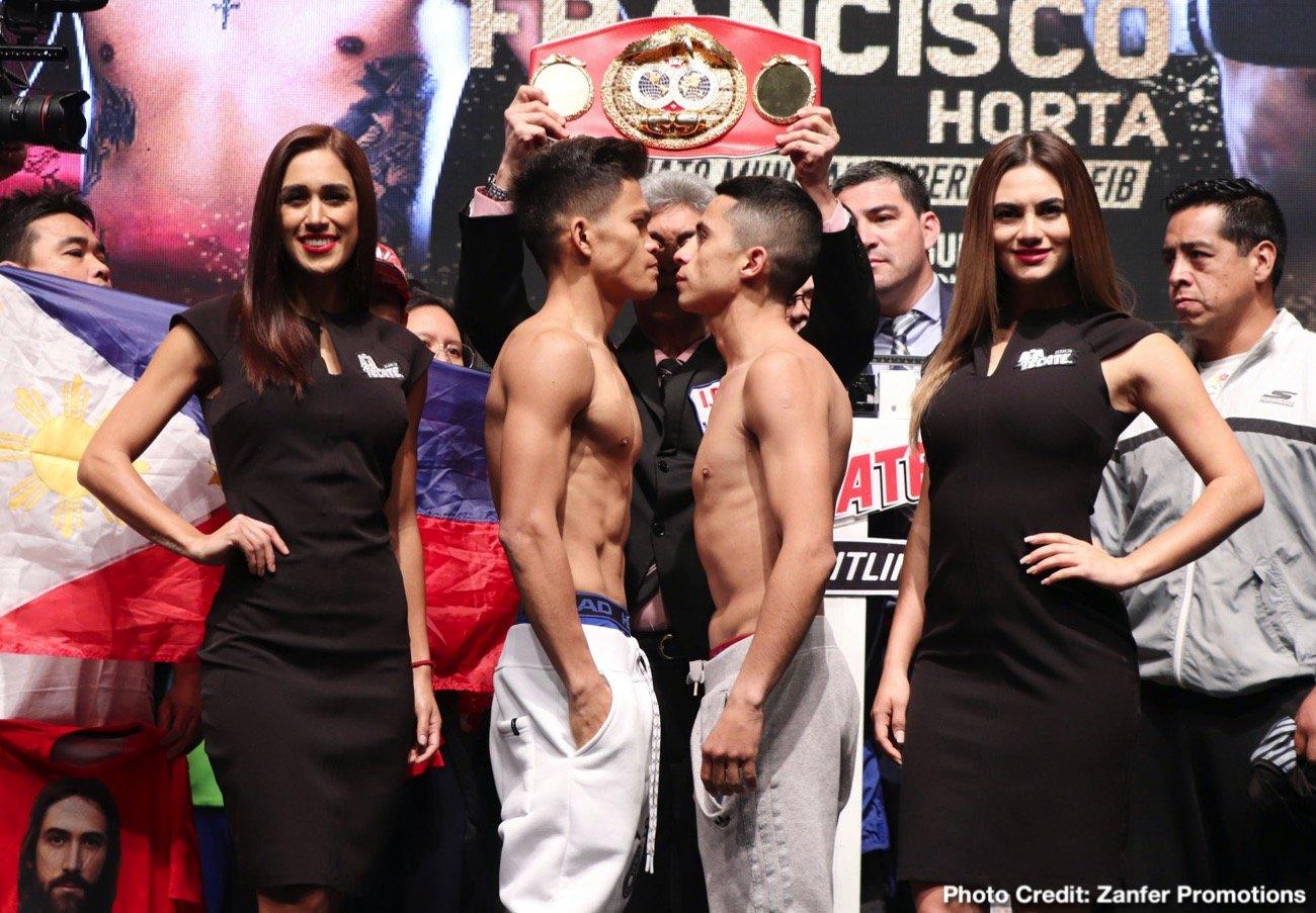 Emanuel Navarrete Francisco Horta Jerwin Ancajas Miguel Gonzalez Boxing News