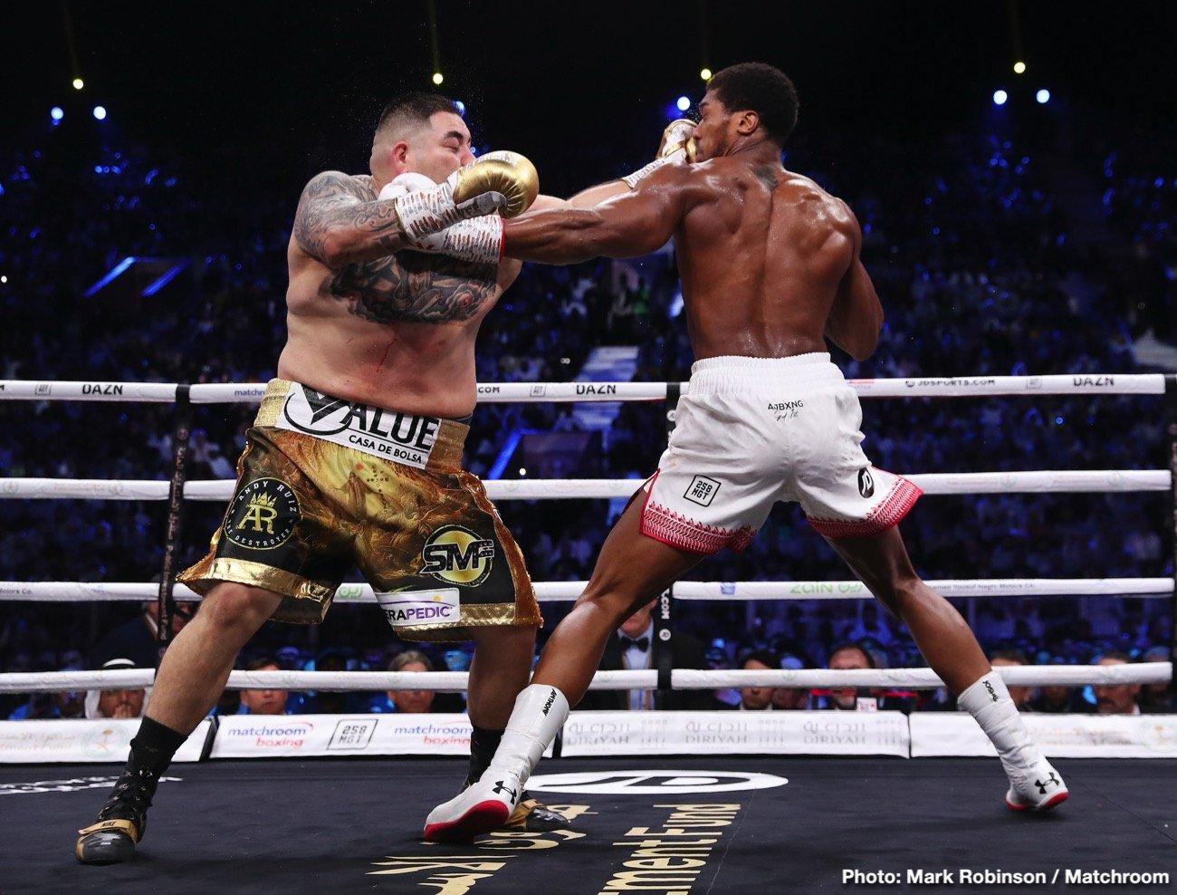 Anthony Joshua, David Haye, Tyson Fury - Boxing News