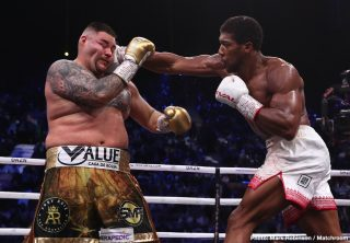 Michael Hunter - In the biggest heavyweight fight of the decade, Anthony Joshua OBE (23-1, 21 KOs) recaptured his position as the unified world heavyweight champion with a masterful unanimous decision victory over Andy Ruiz, Jr. (33-2, 22 KOs) in a rematch that captured the world's attention. In front of thousands of rabid fans at the Diriyah Arena in Riyadh, Saudi Arabia, Joshua exacted his revenge against Ruiz, who six months ago dethroned the undefeated kingpin in epic fashion at Madison Square Garden in New York. Joshua returns to the U.K. as the unified IBF, WBA and WBO world heavyweight champion and now two-time world heavyweight champion.