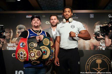 Andy Ruiz Anthony Joshua Boxing News British Boxing Top Stories Boxing