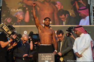Anthony Joshua ready to tear through the division says Hearn