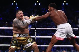 "Andy Ruiz Says He's ""Ready"" to Fight Tyson Fury"
