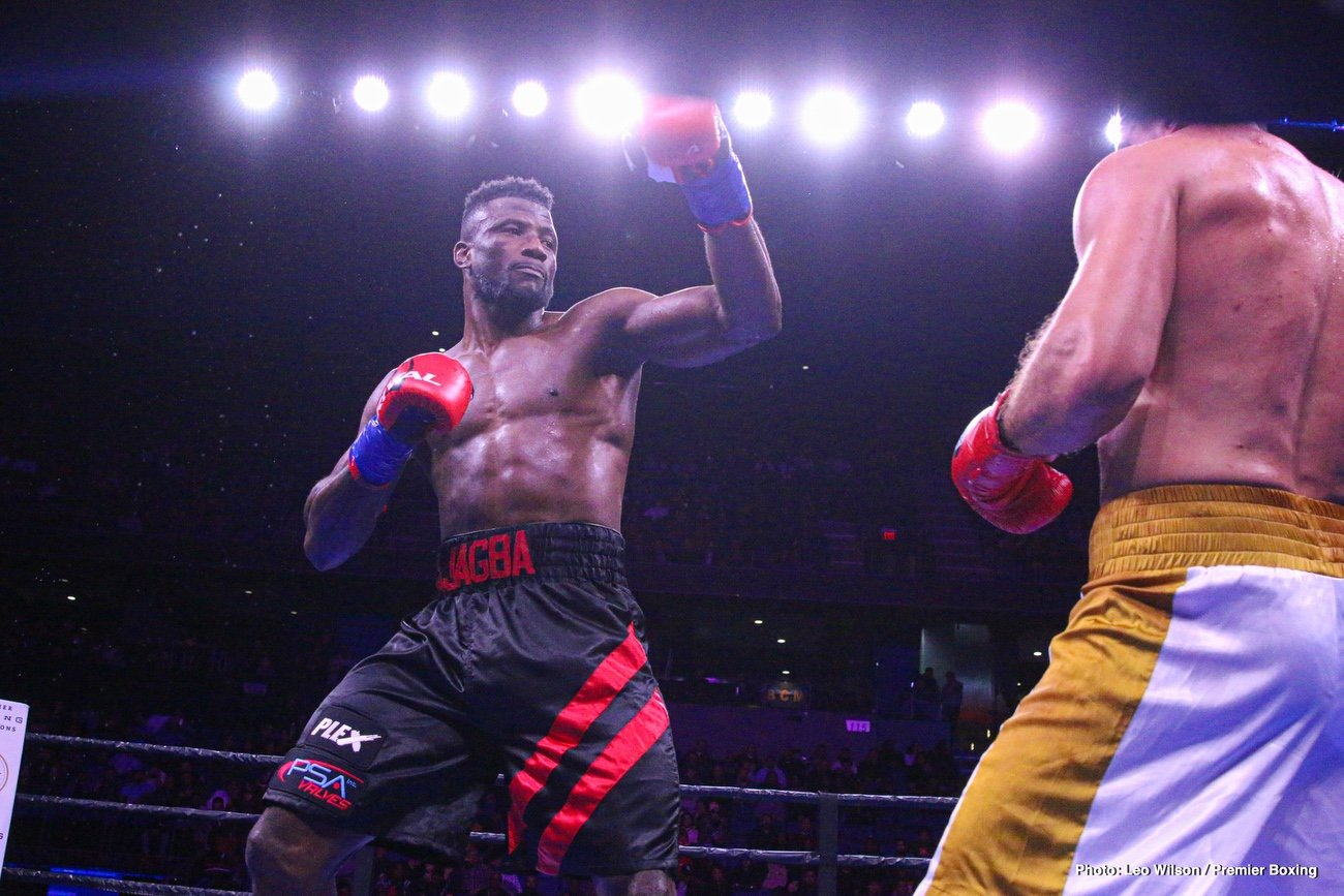 Efe Ajagba - Undefeated heavyweight sensation Efe Ajagba will take on former title challenger Razvan Cojanu in the 10-round co-main event of FOX PBC Fight Night and on FOX Deportes Saturday, March 7 from Barclays Center, the home of BROOKLYN BOXING™.