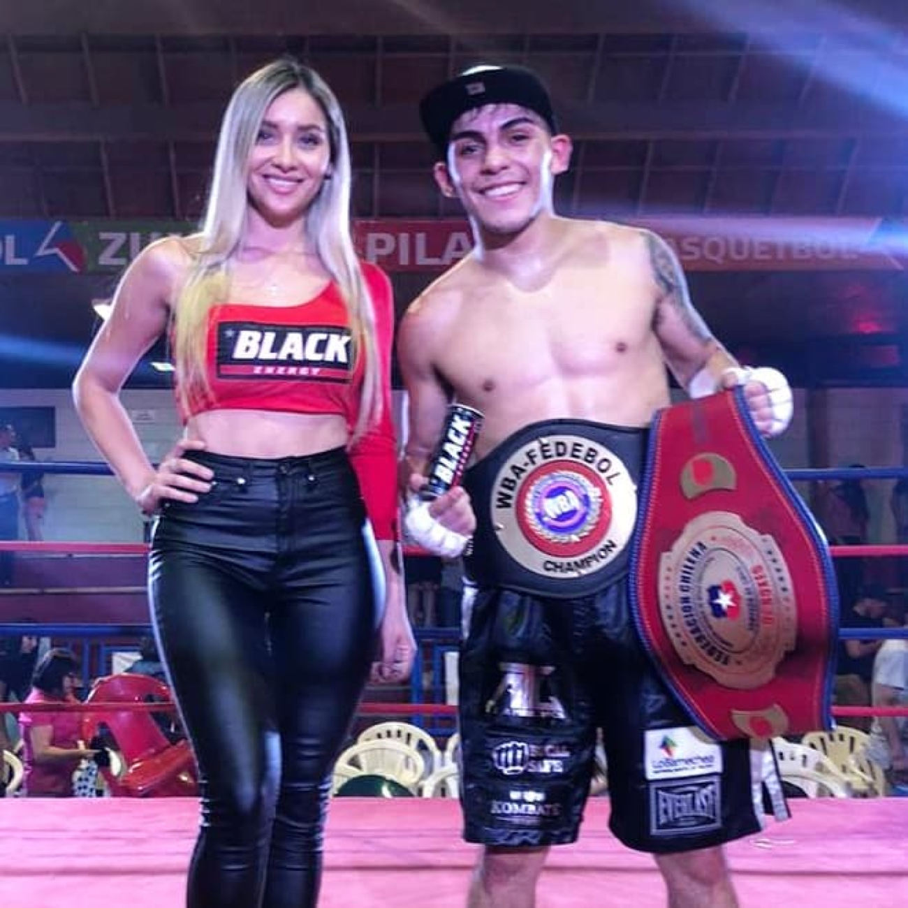 Andrés Campos - Fast-rising Chilean flyweight sensation once again produced an immaculate performance to become WBA Fedebol flyweight champion.
