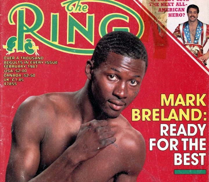 Mark Breland Boxing History Press Room
