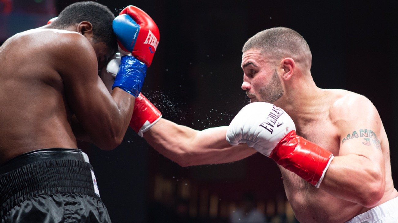 "Peter Manfredo Jr. wanted a tougher challenge and a few more roads in his unexpected return to the ring Saturday at Foxwoods Resort Casino, but the end result was more of the same for ""The Pride of Providence."""