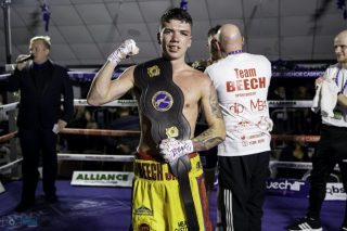 James Beech - Images (c) Manjit Narotra/MSN Images - Walsall's James Beech Jr became a two-weight Midlands Area Champion on Saturday evening thanks to a hard fought victory over Luke Jones.