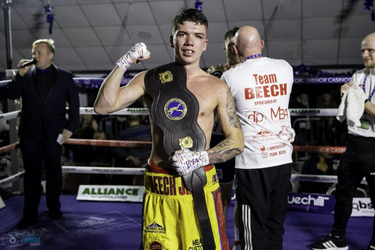 Images (c) Manjit Narotra/MSN Images - Walsall's James Beech Jr became a two-weight Midlands Area Champion on Saturday evening thanks to a hard fought victory over Luke Jones.
