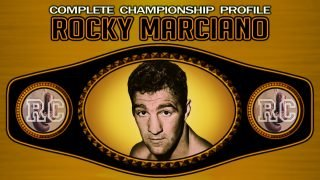 Rocky Marciano - Rocky Marciano is widely regarded as one of the greatest heavyweight champion boxers of all time, and not without sound reasoning.