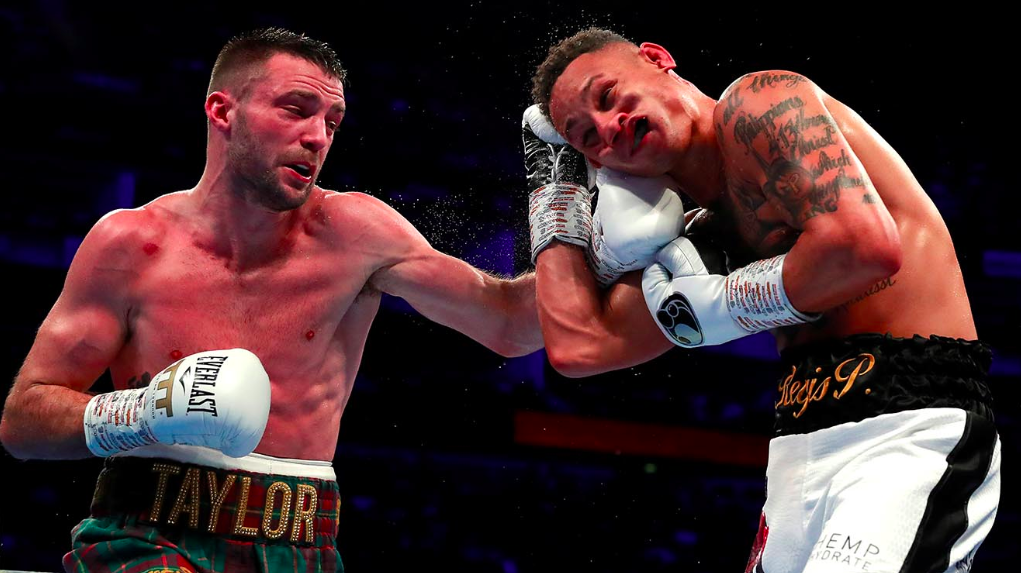 Apinun Khongsong, Josh Taylor - WBA/IBF junior welterweight world champion Josh Taylor will make his return to the ring from BT Sport Studio in London against IBF No one contender Apinun Khongsong on Saturday, Sept. 26, live on ESPN+ in the United States and BT Sport in the UK.