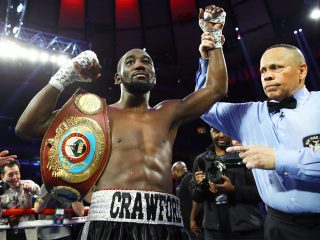 Burns vs. Crawford - WBO lightweight champion Ricky Burns (36-3-1, 11 KO's) gave it his best shot tonight, but it wasn't good enough to turn back challenger Terence Crawford (23-0, 16 KO's), who defeated him by a 12 round unanimous decision to capture his WBO 135 lb title at the Scottish Exhibition Centre, in Glasgow, Scotland, United Kingdom. The judges scores were 115-112, 115-112 and 117-111. The 117-111 score was more indicative to what happened in the ring tonight.
