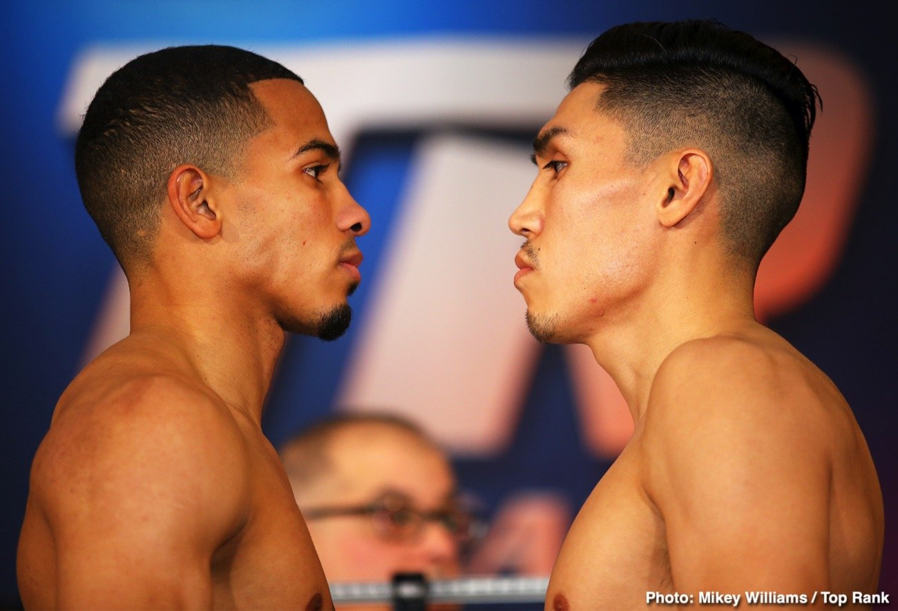 "Felix Verdejo - Puerto Rican superstar Felix ""El Diamante"" Verdejo, inching closer to a lightweight world title shot, will see action on a special Top Rank on ESPN show Saturday, Jan. 18 from Turning Stone Resort Casino in Verona, N.Y."