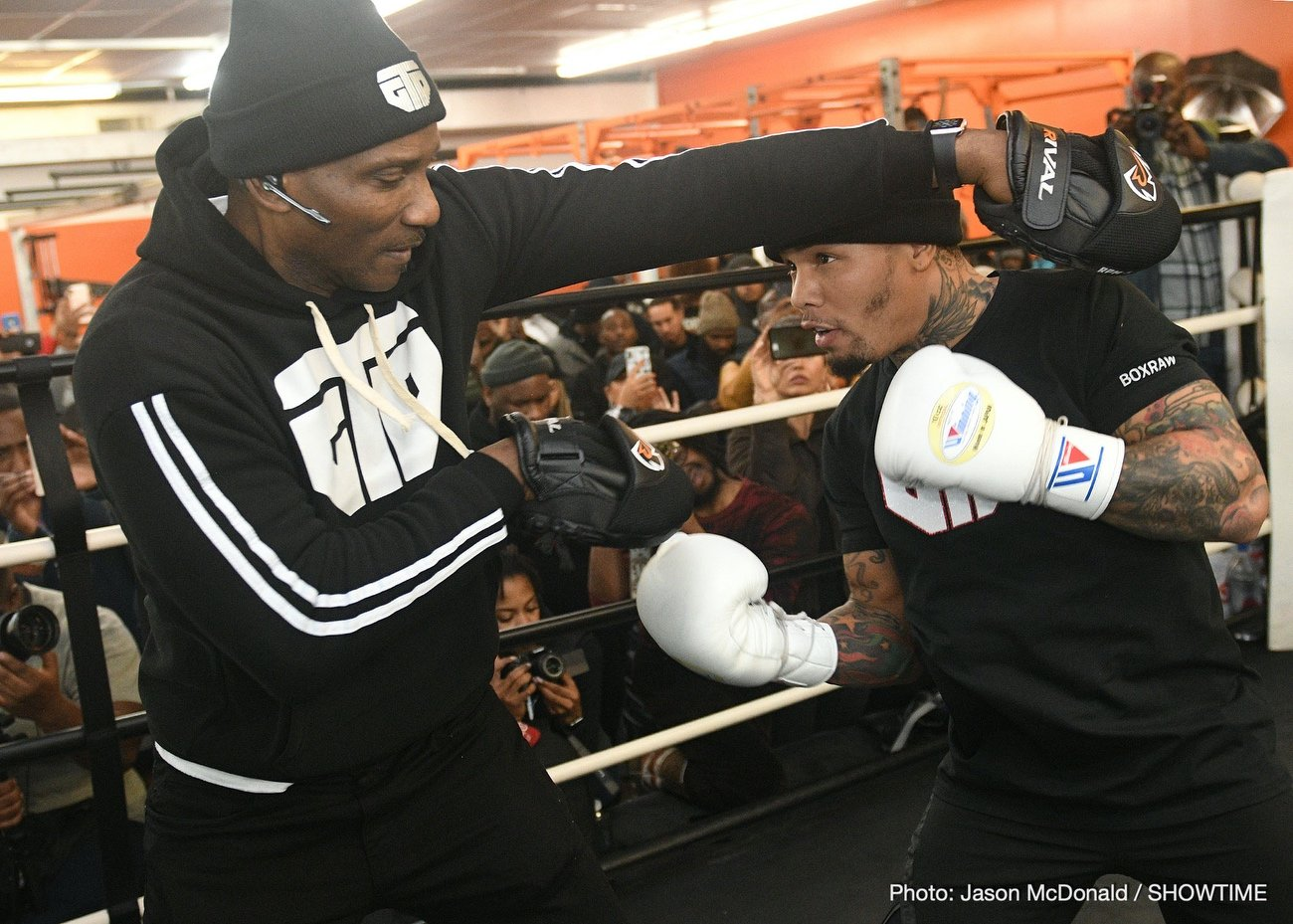 """Gervonta Davis, Leo Santa Cruz - Three-time world champion Gervonta """"Tank"""" Davis and four-division world champion Leo """"El Terremoto"""" Santa Cruz previewed their highly anticipated battle for the WBA Super Featherweight and WBA Lightweight Championships during a virtual press conference on Tuesday."""