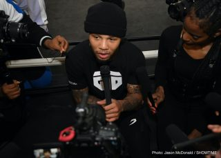 "Gervonta Davis - Will He Make Weight? World Champion Gervonta ""Tank"" Davis answers the tough questions as he takes a stand on the Last Stand Podcast with Brian Custer. Tank talks about the viral video of him getting physical with his child's mother, getting in the ring with Vasyl Lomachenko, training with Floyd ""Money"" Mayweather, and making weight for his much-anticipated Pay Per View fight against Leo Santa Cruz. Davis' road to becoming a boxing star is sure to inspire many."