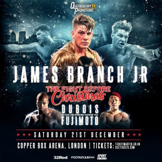 Kyotaro Fujimoto - UNBEATEN cruiserweight hope James Branch Jr has snubbed the chance to sign up for Love Island.