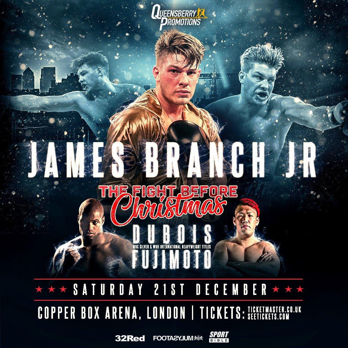 Daniel Dubois James Branch Kyotaro Fujimoto British Boxing Press Room