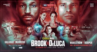Mark DeLuca - Kell Brook will make his eagerly-anticipated return to the ring against Mark DeLuca at the FlyDSA Arena in Sheffield on Saturday February 8 on a bumper bill featuring Kid Galahad taking on Claudio Marrero in a Final Eliminator for the IBF Featherweight crown, Terri Harper clashing with Eva Wahlstrom for the WBC Super-Featherweight World Title and the return of Heavyweight favourite Dave Allen, shown live on Sky Sports in the UK and DAZN in the US.