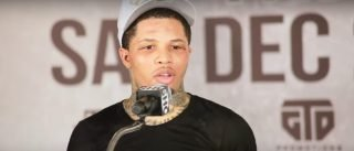 Gervonta Davis reacts to Ryan Garcia victory over Francisco Fonseca