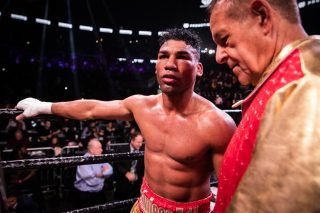 Gervonta Davis, Yuriorkis Gamboa - Yuriorkis Gamboa was fighting a lot of things last night: Father Time, an ankle injury and a naturally bigger man in Gervonta Davis. But the 38 year old, around eight years or more past his prime, gave a good account of himself. Above all, the Cuban showed admirable heart and courage. In getting up from hurtful knockdowns and almost going the full 12 rounds with Davis, who he tested all the way, Gamboa gave it one last big effort.