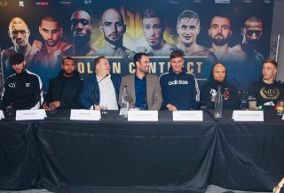 Hosea Burton - Some of the fighters made it perfectly clear their opponents have made mistakes by choosing them as they took part in the final press conference today ahead of the #GoldenContract light-heavyweight quarter-finals.