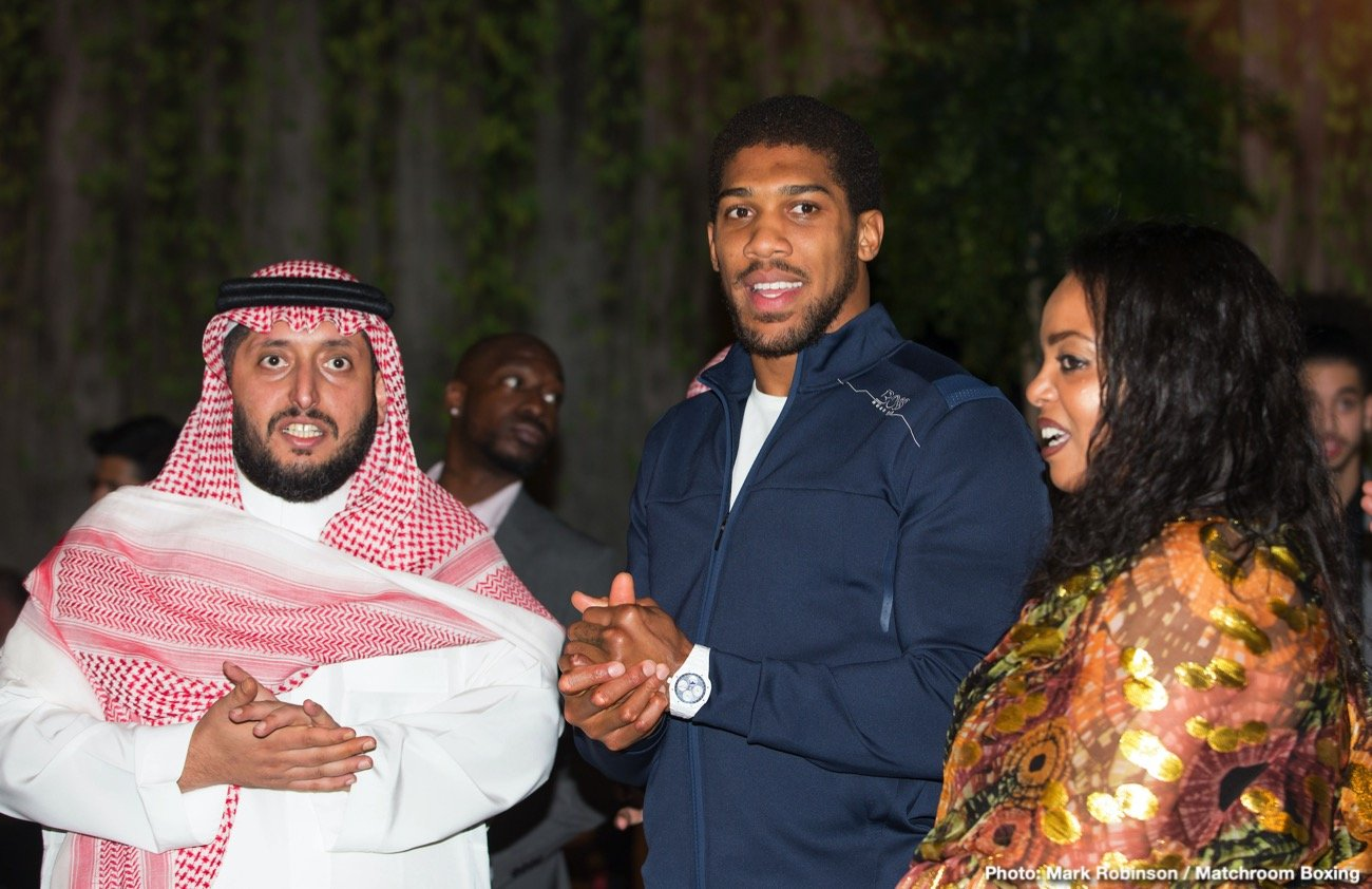 Anthony Joshua - We've been here before, right?