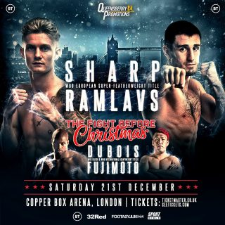 Archie Sharp - ARCHIE SHARP MAKES a third defence of his WBO European super featherweight title when he takes on the unbeaten Artjoms Ramlavs at the Copper Box Arena on December 21.