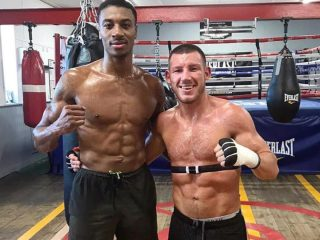 """Alantez Fox - PREPARATIONS HAVE BEGUN in earnest for Liam Williams' December 21st eliminator against 6'5"""" Alantez Fox as pictures emerged of him sparring with Light Heavyweight Shakan Pitters."""