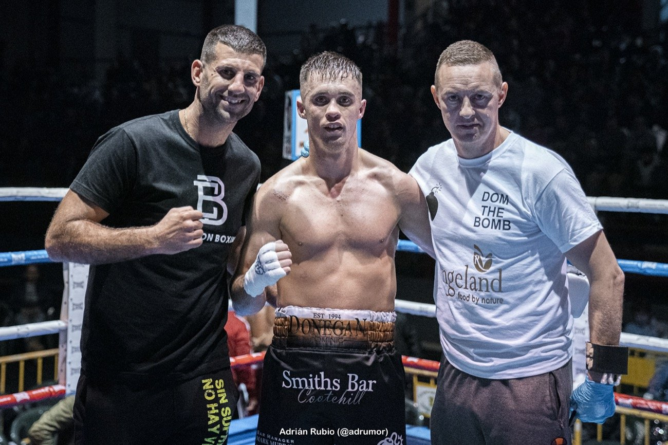 Dominic Donegan, Francy Luzoho - Cavan light middleweight Dominic Donegan goes into 2020 full of confidence following a ringing endorsement from a legendary light middleweight.