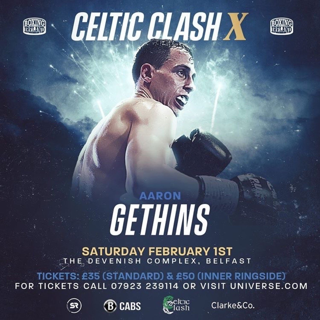 Aaron Gethins - Sligo starlet Aaron Gethins will return to the ring next month and it could set up a big homecoming.