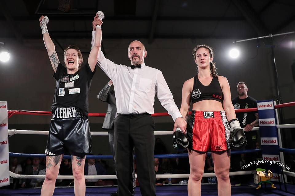 Siobhan O'Leary - Siobhan O'Leary will head to Scotland at the end of the month for a breakthrough title fight.