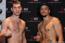Adrian Estrella, Ja'Rico O'Quinn, Oscar Vasquez, Shohjahon Ergashev, Ulises Sierra, Vladimir Shishkin - Fast-rising super middleweight prospect Vladimir Shishkin (9-0, 6 KOs) and unbeaten Ulises Sierra (15-0-2, 9 KOs) both made weight a day before they square off on ShoBox: The New Generation Friday night live on SHOWTIME (10:00 p.m. ET/PT) from WinnaVegas Casino in Sloan, Iowa.