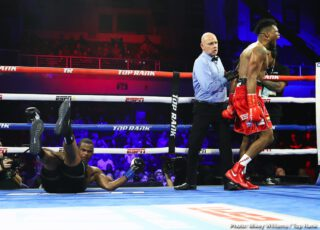 "Felix Verdejo - The first man to land his Sunday punch was going to win the fight. Former world champion Eleider ""Storm"" Alvarez returned from a nearly one-year layoff to knock out Michael ""Cannon Handz"" Seals with a single overhand right at the end of the seventh round Saturday evening at Turning Stone Resort Casino."
