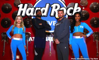 Joe Smith - Two of the light heavyweight division's biggest punchers, Jesse Hart and Joe Smith Jr., are prepared for a toe-to-toe battle in a 10-rounder Saturday evening (ESPN, 10 p.m. ET/7 p.m. PT) from the Etess Arena at the Hard Rock Hotel and Casino in Atlantic City, N.J.
