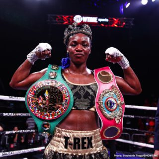 Savannah Marshall - Three-weight world champ Claressa Shields is arguably the finest female boxer fighting today. Unbeaten at 10-0(2), Shields of Flint, Michigan has proven her skills time and again. But there could be a British challenger who holds an amateur win over Shields closing in on a rematch at pro level. Savannah Marshall of Durham in the UK has called out Shields – writing on social media how Shields' reign will end this year: