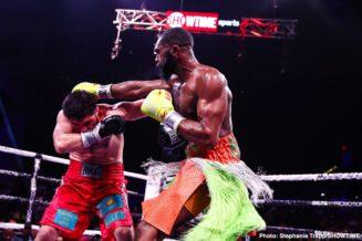 Bakhtiyar Eyubov, Jaron Ennis - Boxing News
