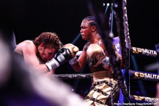 Claressa Shields - With the world currently focused on fighting the Coronavirus pandemic, Salita Promotions has made the decision to postpone and reschedule the Claressa Shields vs Marie-Eve Dicaire Undisputed World Championship fight, originally slated for May 9 at the Dort Federal Credit Union Event Center in Flint, Mich., and live on SHOWTIME.