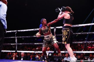 Claressa Shields - Women's boxing superstar Claressa Shields has added two more impressive distinctions to her already unparalleled boxing career laurels.