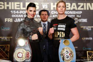 Alicia Napoleon-Espinosa, Bakhtiyar Eyubov, Claressa Shields, Elin Cederroos, Ivana Habazin, Jaron Ennis - Boxing News