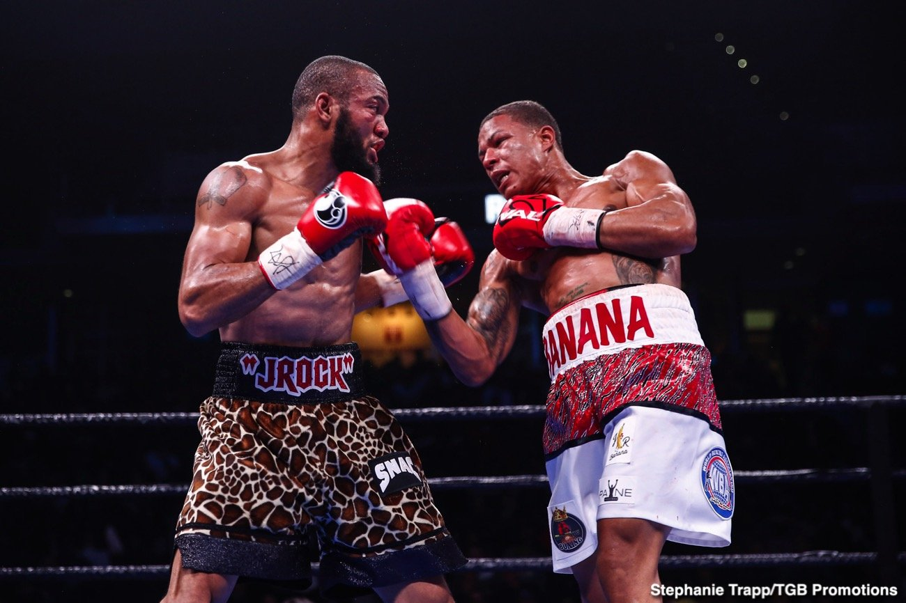 Julian Williams - Huge underdog Jeison Rosario (20-1-1, 14 KOs) used his superior power, speed and youth to destroy IBF/IBO/WBA junor middleweight champion Julian 'J-Rock-Williams (27-2-1, 16 KOs) by a 5th round knockout on Daturday night in front of J-Rock's own fans at the Liacouras Center, in Philadelphia.