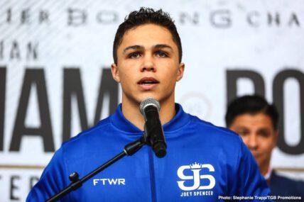 Chris Colbert, Erik Spring, Jeison Rosario, Jezreel Corrales, Joey Spencer, Julian Williams - Boxing News