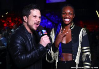 Marie-Ève Dicaire - Undefeated three-division world champion Claressa Shields will attempt to become the first boxer in the four-belt era to become an undisputed world champion in two weight divisions when she faces unbeaten IBF Super Welterweight Champion Marie-Eve Dicaire in a 154-pound unification bout on Saturday, May 9, live on SHOWTIME (9 p.m. ET/6 p.m. PT) from the Dort Federal Credit Union Event Center in Shields' hometown of Flint, Mich.