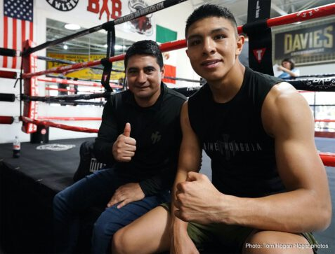 "DAZN, Gary O'Sullivan, Jaime Munguia - Jaime Munguia (34-0, 27 KOs) hosted a media workout today at Boxers and Brawlers Boxing Club ahead of his 12-round middleweight fight against Gary ""Spike"" O'Sullivan (30-3, 21 KOs). The battle will take place Saturday, Jan. 11 at The Alamodome in San Antonio, TX and will be streamed live exclusively on DAZN."