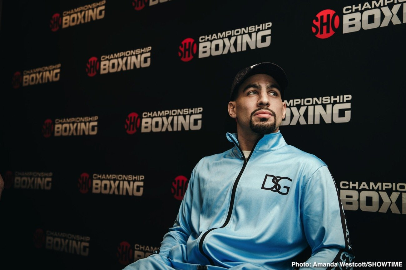 Danny Garcia - Danny Garcia wants to go after rematches against Keith Thurman and Shawn Porter in 2021 at junior middleweight. Garcia (36-2, 21 KOs) would like the opportunity to face both of those guys to even the score.