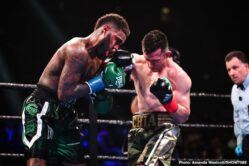 """Danny Garcia, Francisco Santana, Ivan Redkach, Jarrett Hurd - Two-division world champion Danny """"Swift Garcia scored a dominant unanimous decision victory over Ivan """"El Terrible"""" Redkach in their WBC Welterweight Title Eliminator Saturday night, headlining the action live on SHOWTIME from Barclays Center, the home of BROOKLYN BOXING™, in an event presented by Premier Boxing Champions."""