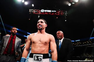 "Amir Khan - If Amir Khan was not made of sterner stuff heart and desire-wise, the nasty, upset KO loss he suffered on this day eight years ago would have ended his career. Period. Instead, the destruction job an unbeaten Danny Garcia did on ""King Khan"" ended the Bolton's man time as a world championship fighter."